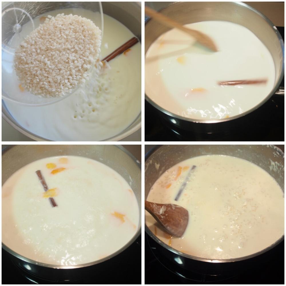 Arroz con leche - Paso 2