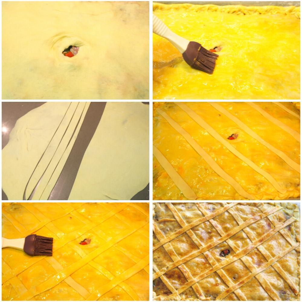 Empanada de lacón con grelos - Paso 6