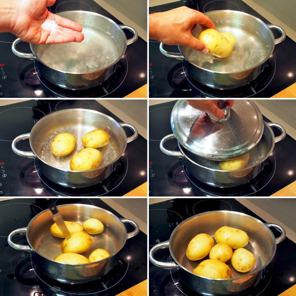 Puré de patatas - Paso 1