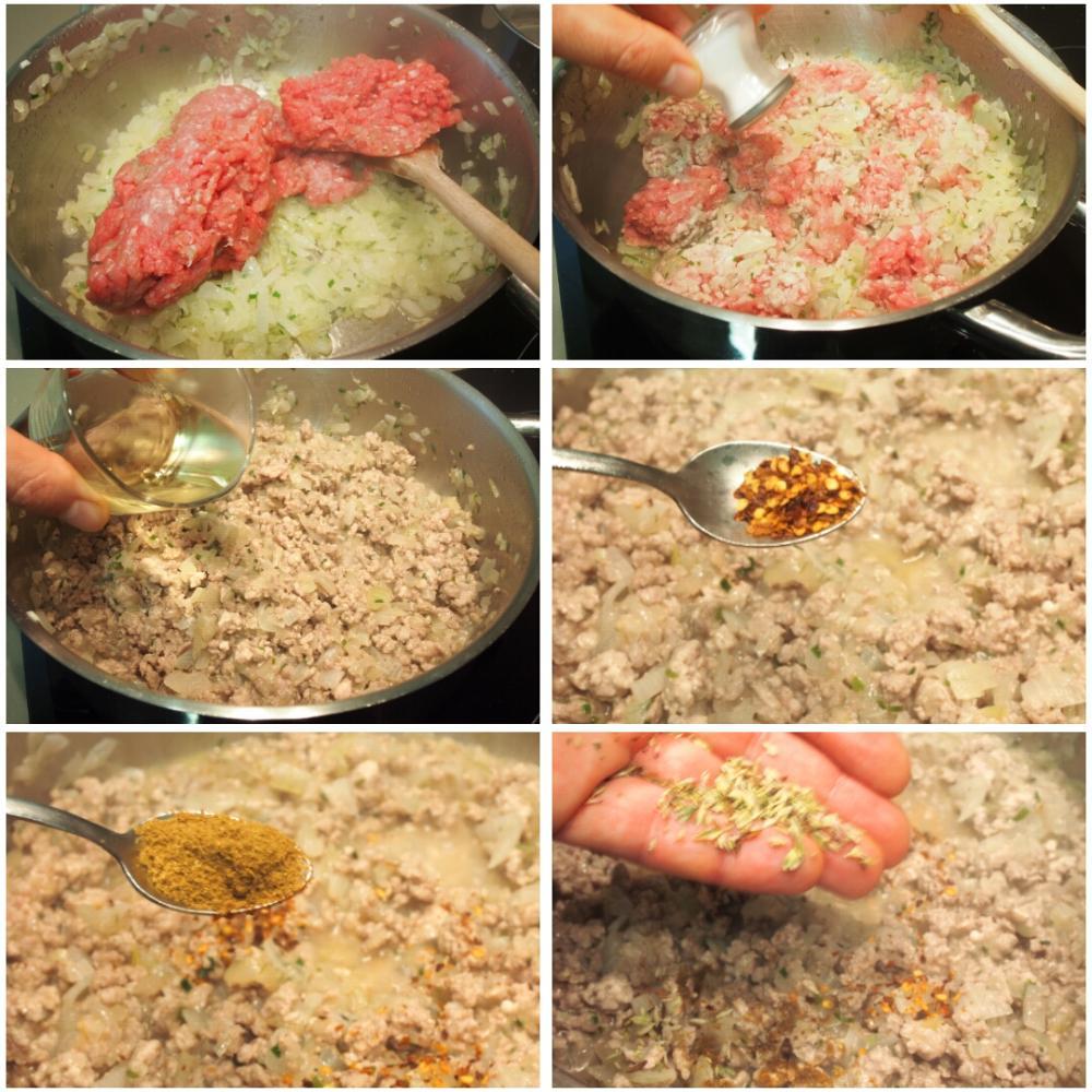 Empanadas de carne argentinas - Paso 3