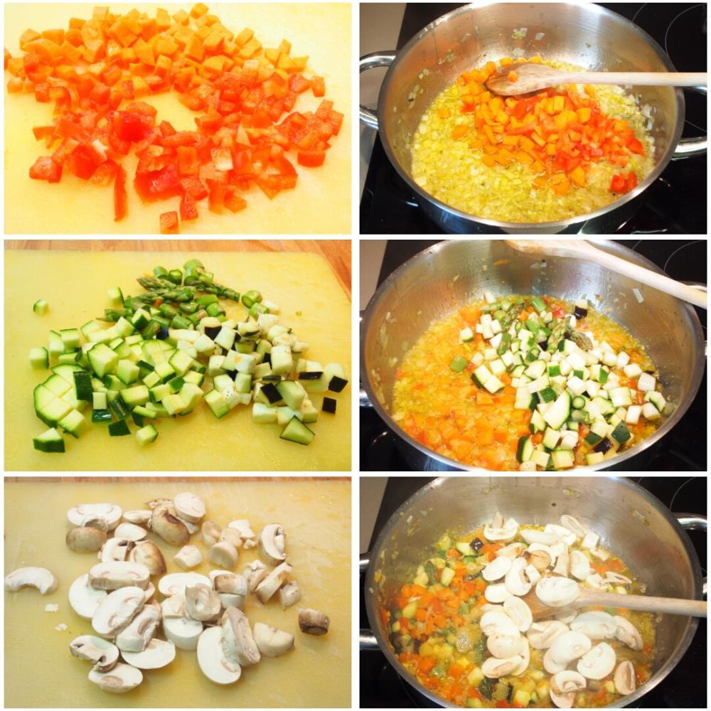 Arroz de verduras fácil - Paso 3
