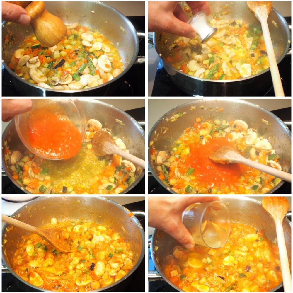 Arroz de verduras fácil - Paso 4