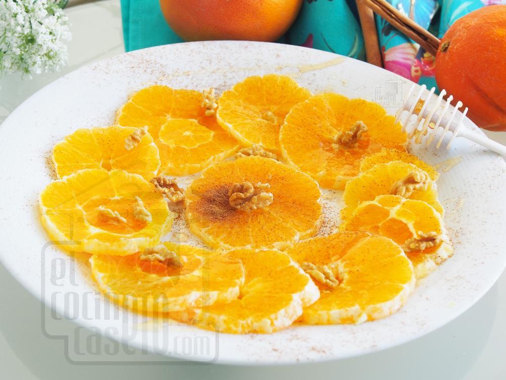 Naranjas con canela - Paso 2