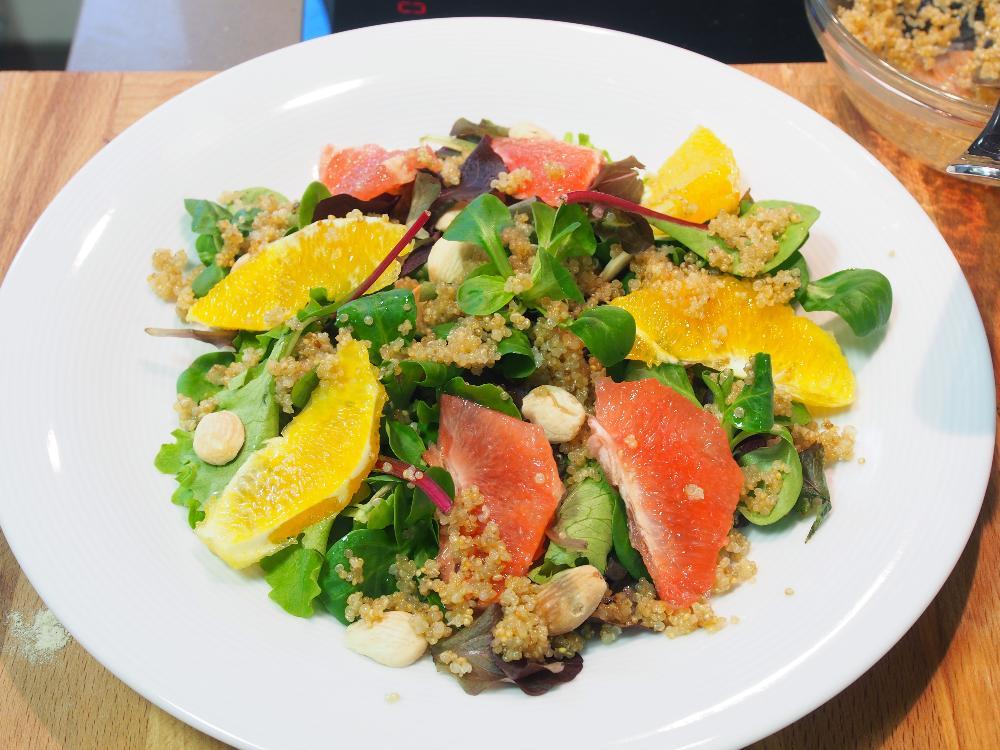 Ensalada de quinoa y cítricos - Paso 3