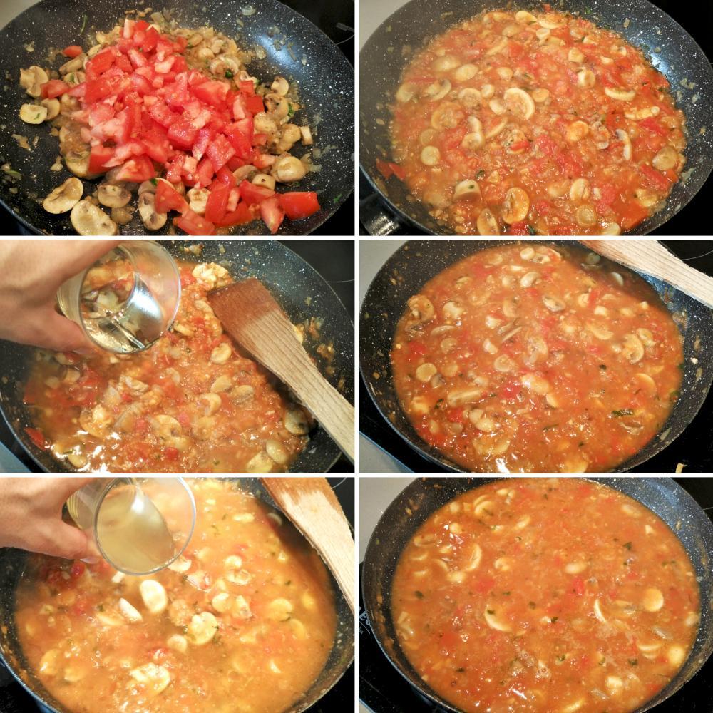 Filetes de ternera en salsa con champi ones el cocinero for Cocinar filetes de ternera