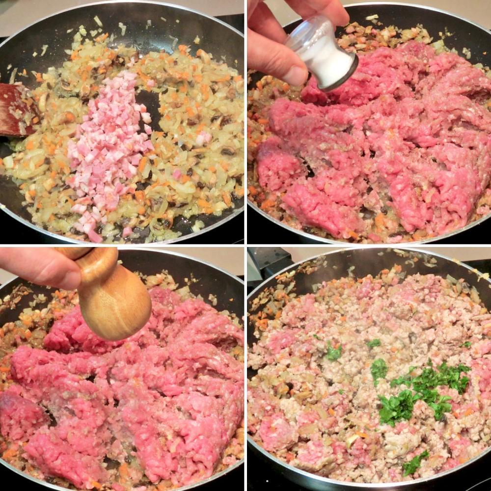 Pimientos rellenos de carne picada - Paso 4