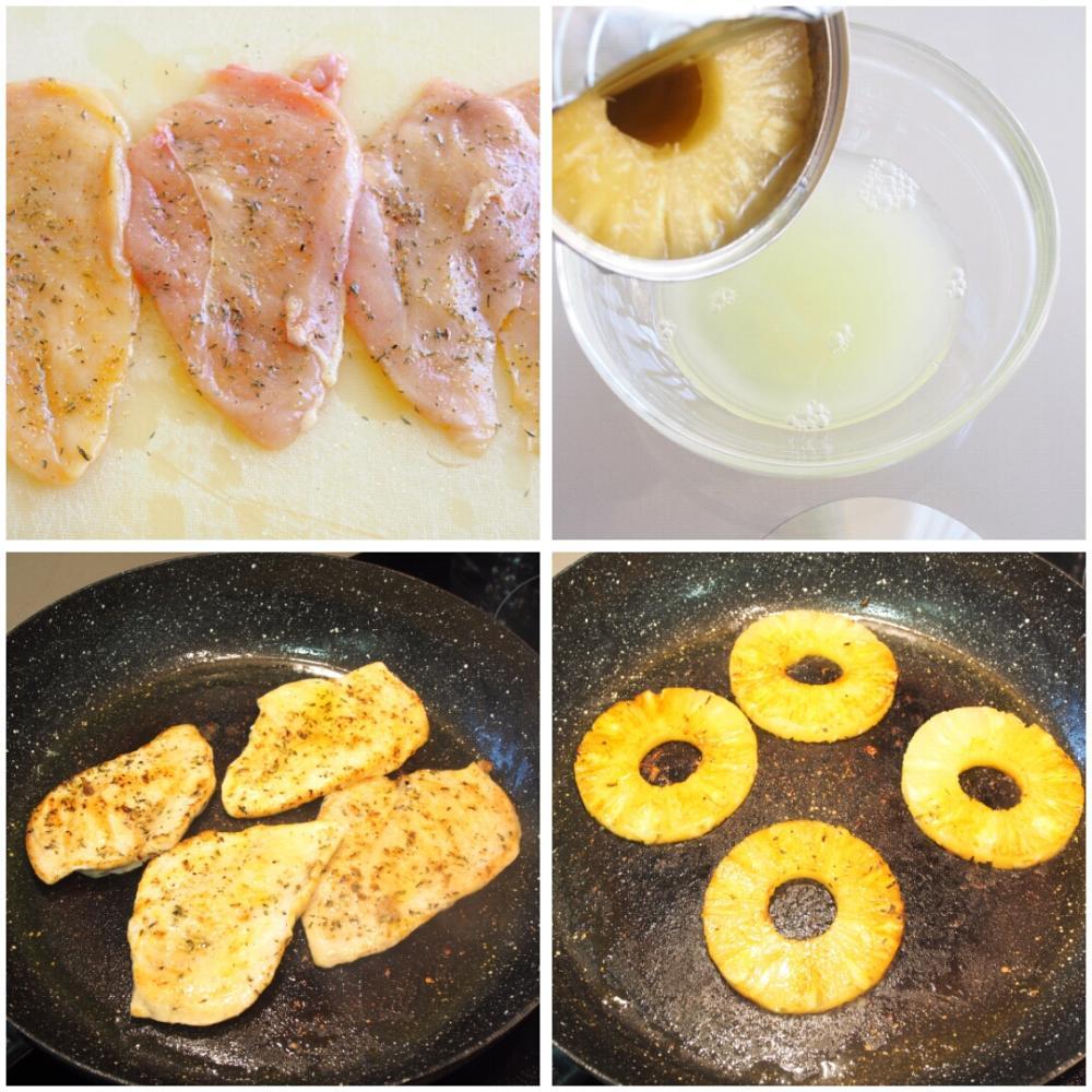 Ensalada de pasta fría con pollo - Paso 2