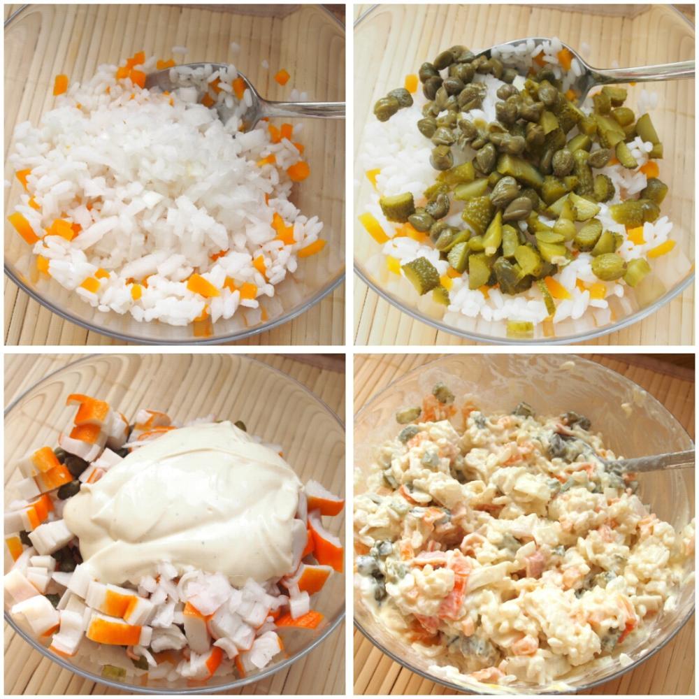 Pimientos del piquillo rellenos de arroz - Paso 3