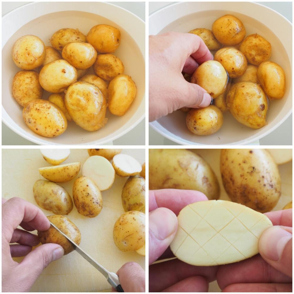 Patatas con especias al horno - Paso 1