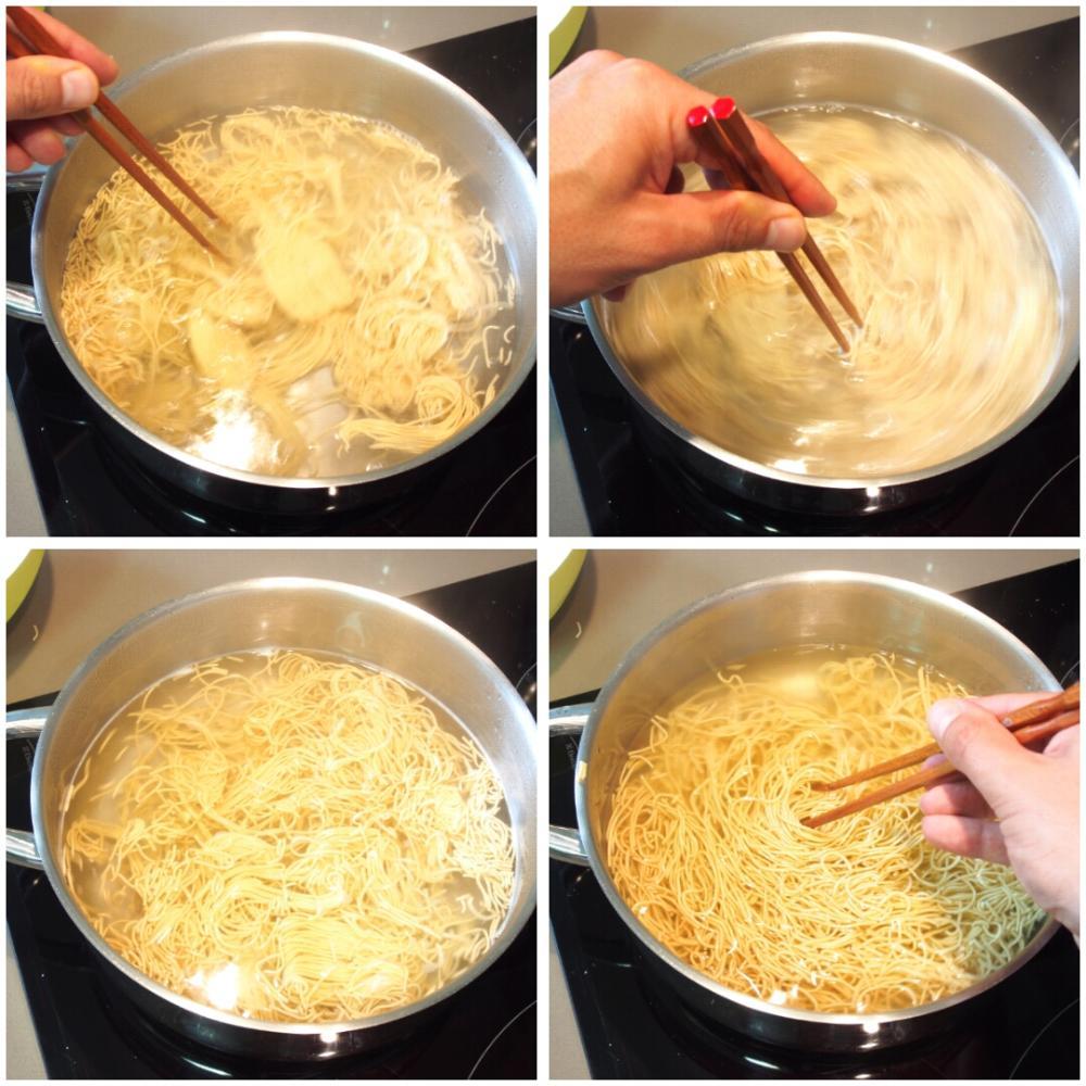 Cómo cocer noodles - Paso 2