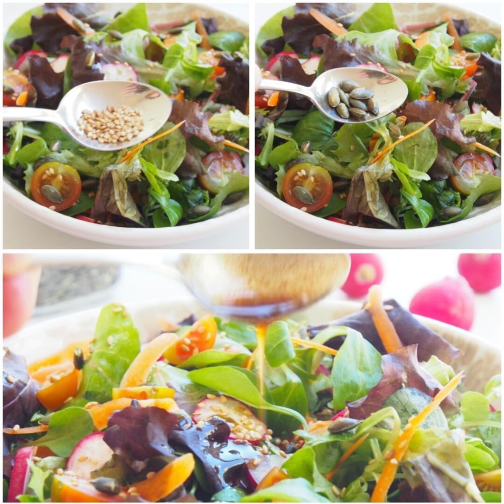 Ensalada de tomate y rabanitos - Paso 3