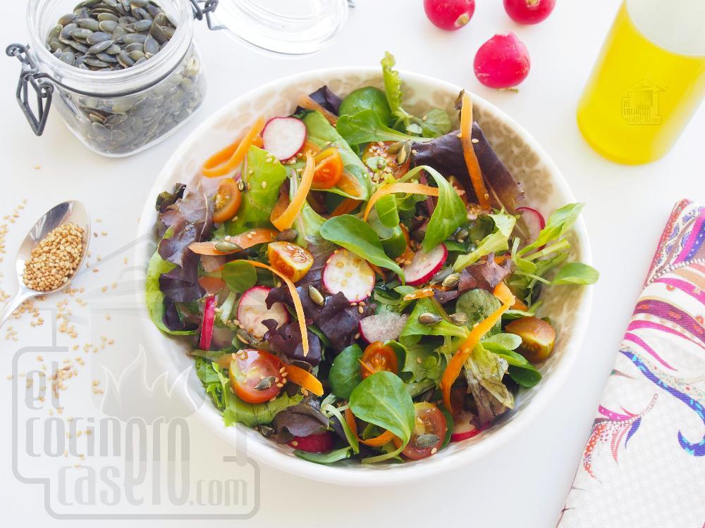 Ensalada de tomate y rabanitos - Paso 4