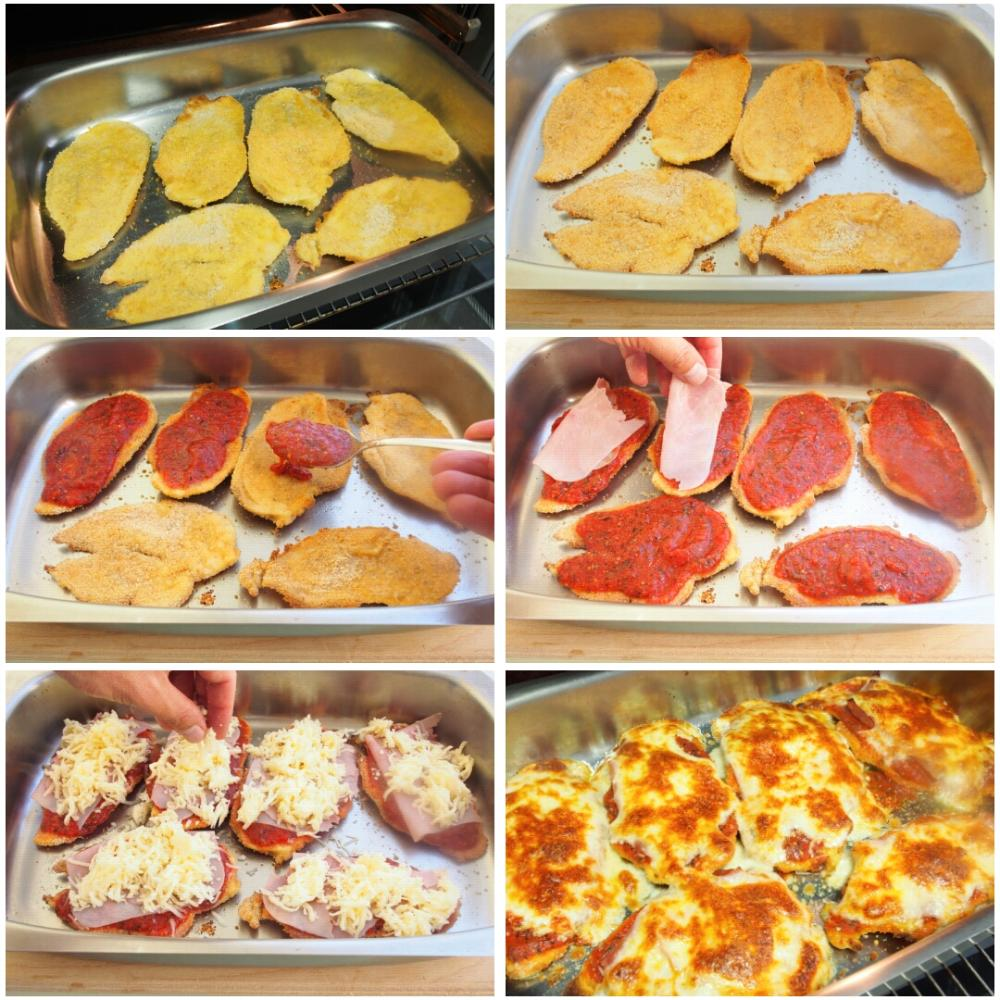Pechugas de pollo a la napolitana - Paso 5