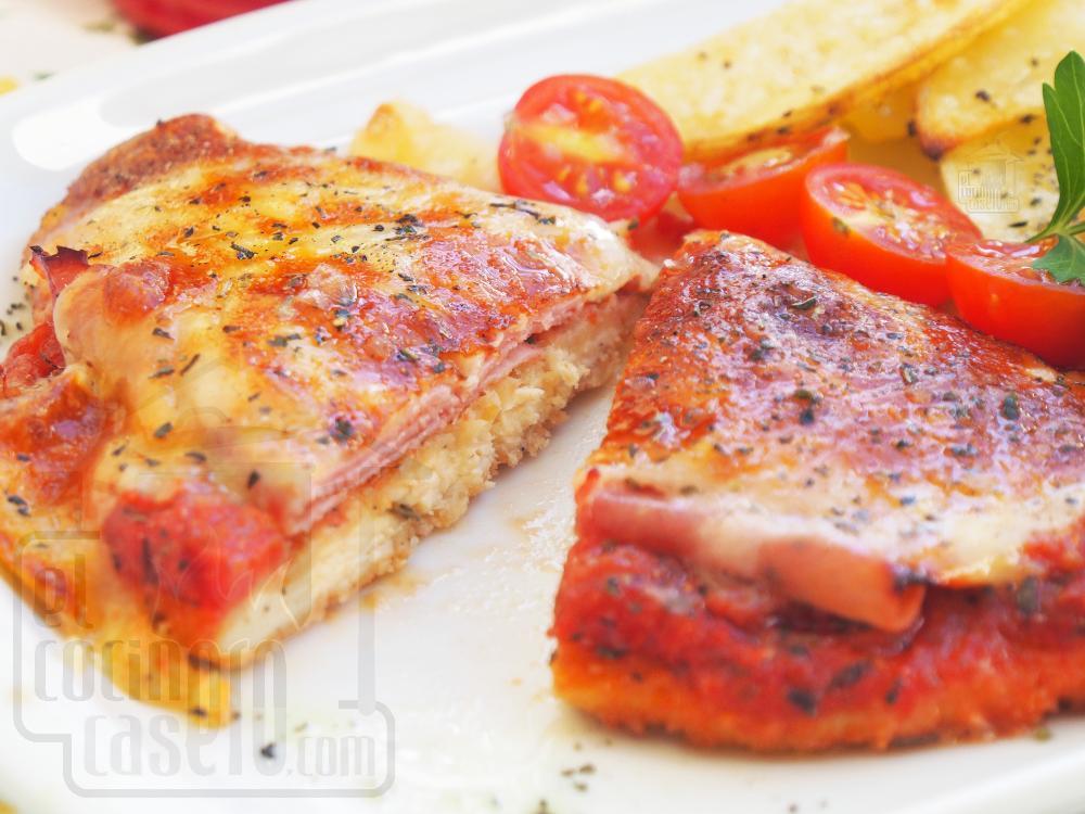 Pechugas de pollo a la napolitana - Paso 6