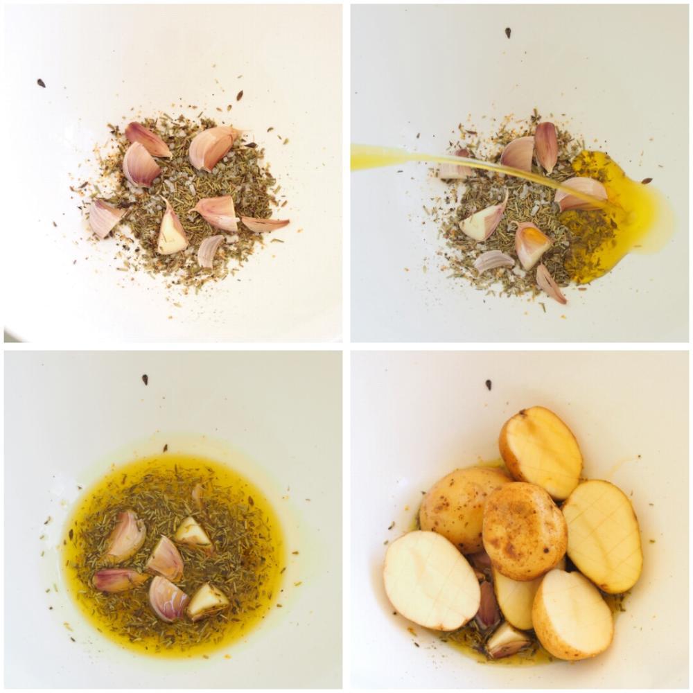 Patatas con especias al horno - Paso 2