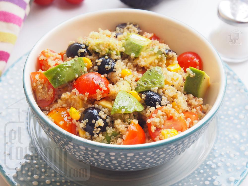 Ensalada de quinoa con aguacate y cherrys - Paso 5