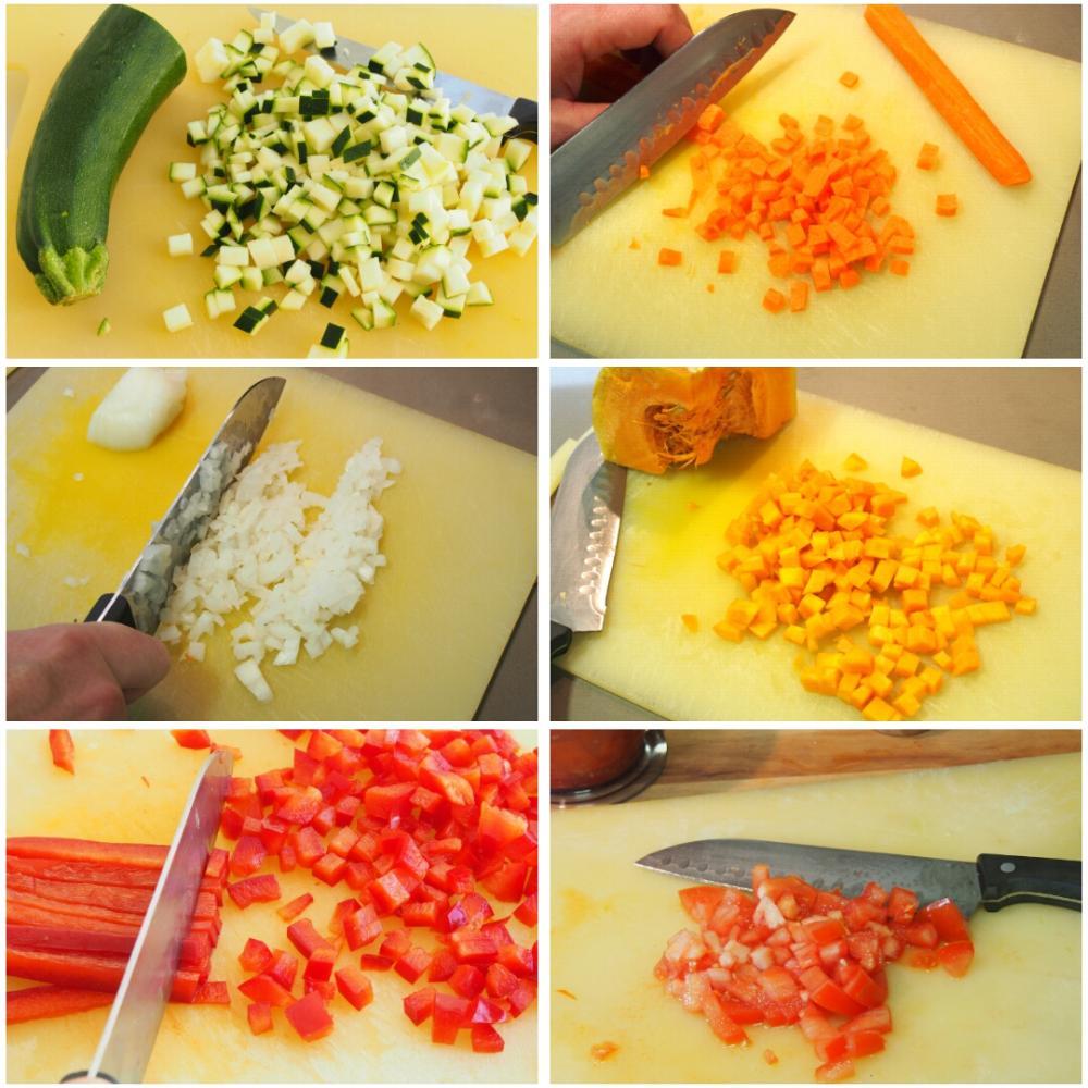 Cuscús de verduras - Paso 1