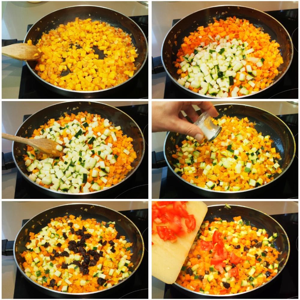 Cuscús de verduras - Paso 3