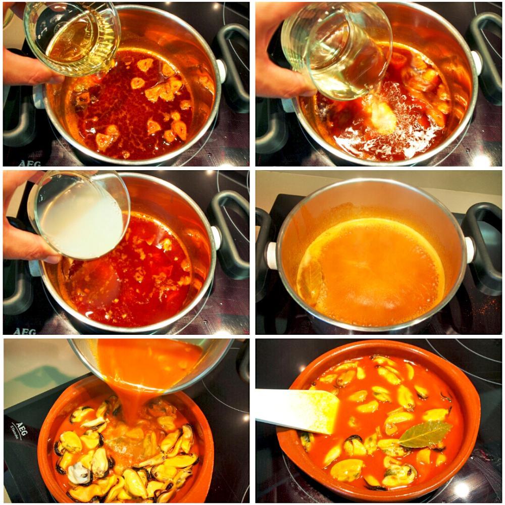 Cómo hacer mejillones en escabeche - Paso 4