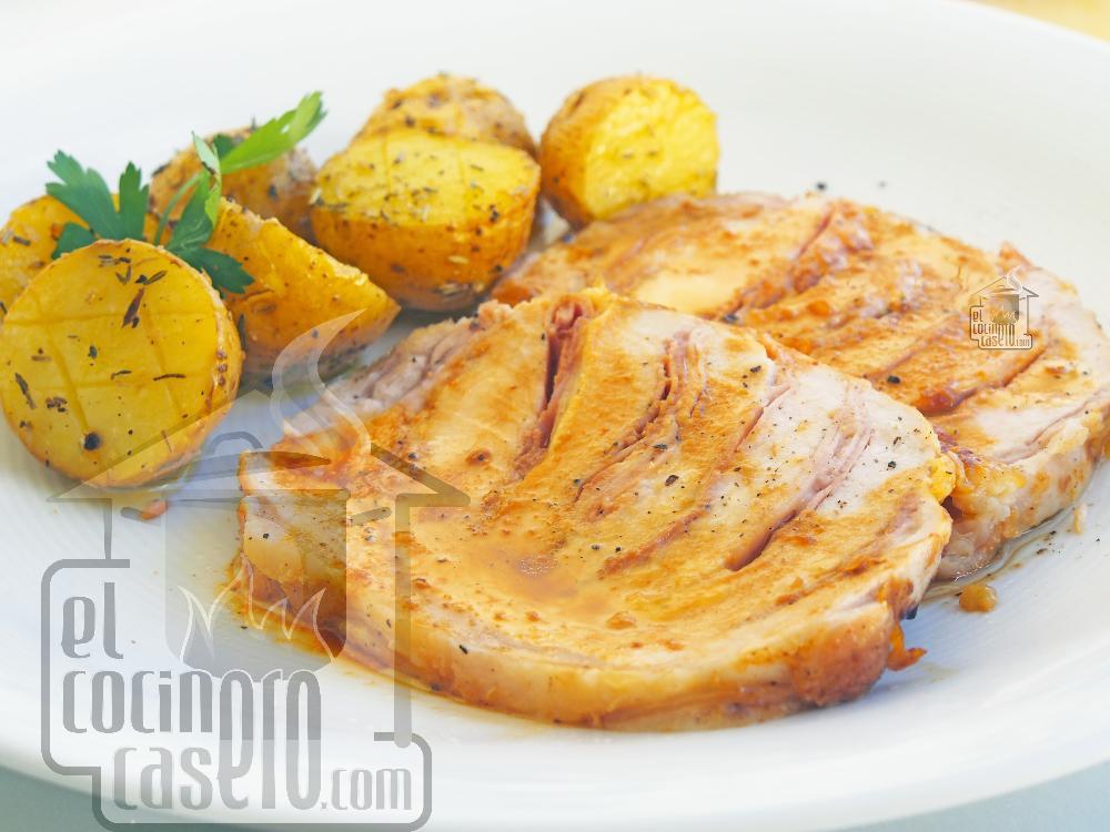 Lomo asado con patatas - Paso 8