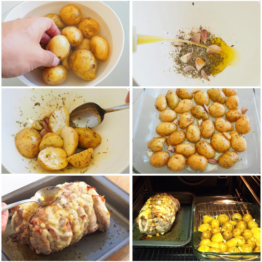 Lomo asado con patatas - Paso 5