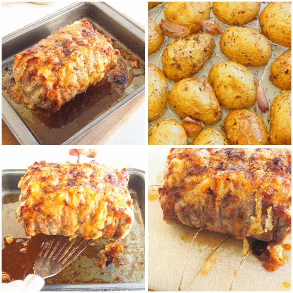 Lomo asado con patatas - Paso 6