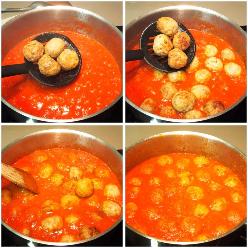 Albóndigas caseras en salsa - Paso 5