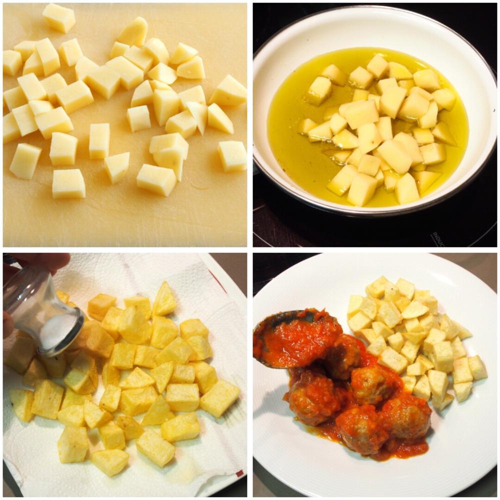 Albóndigas caseras en salsa - Paso 6