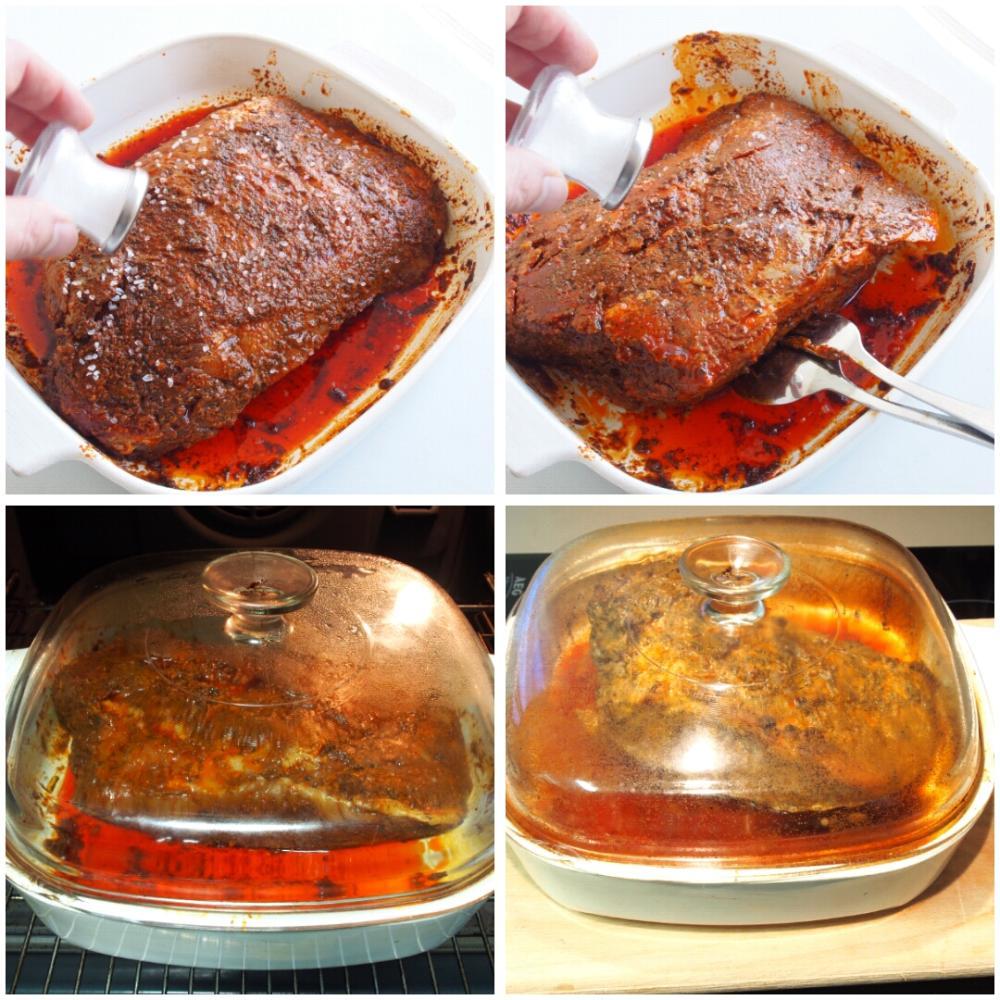 Jamón asado al horno - Paso 4