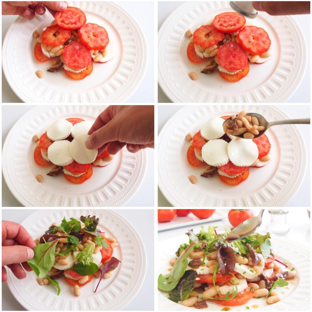 Ensalada de alubias con queso y anchoas - Paso 5