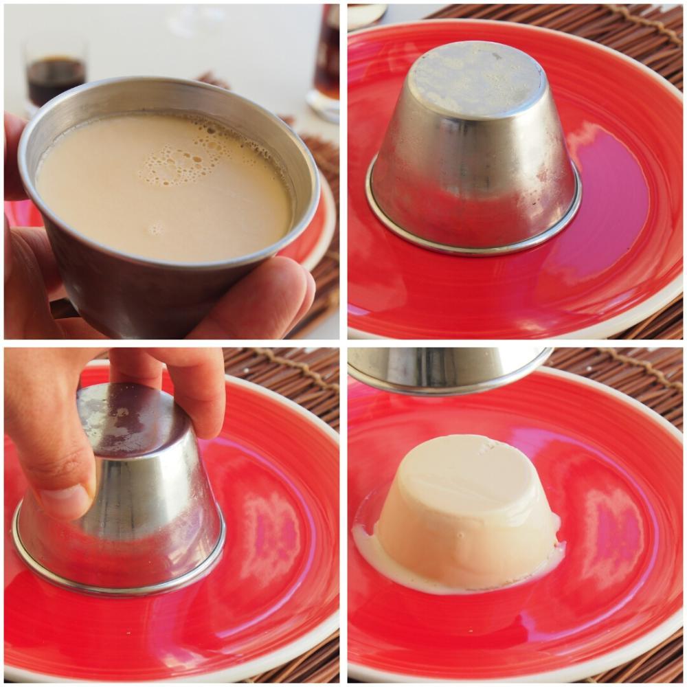 Panna cotta de licor café - Paso 4