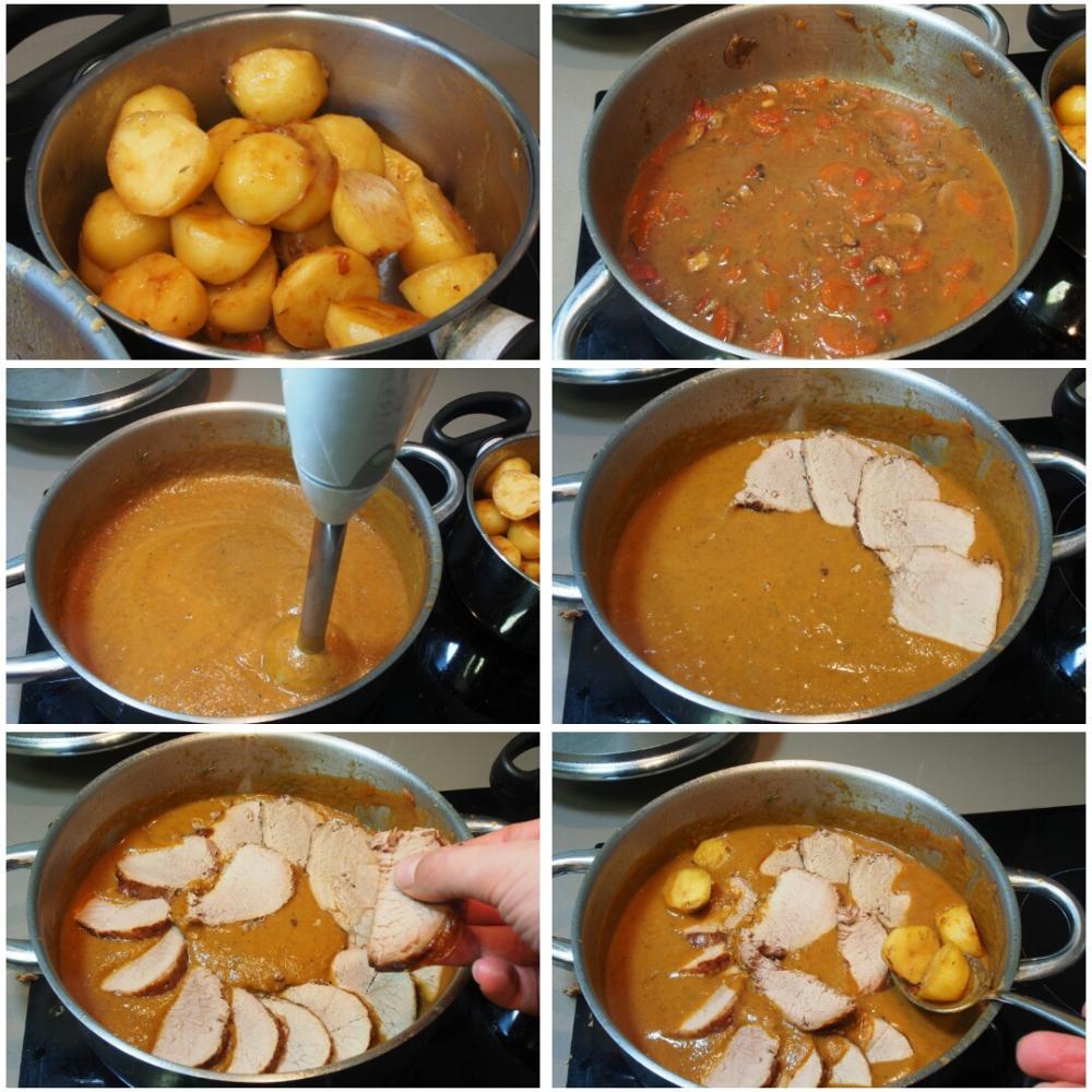 Redondo de ternera en salsa - Paso 10