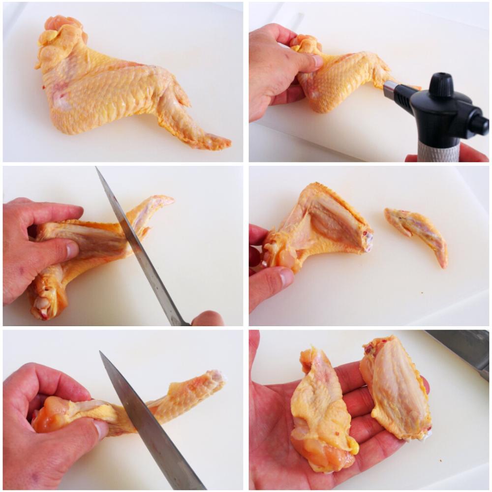 Alitas de pollo al horno - Paso 1