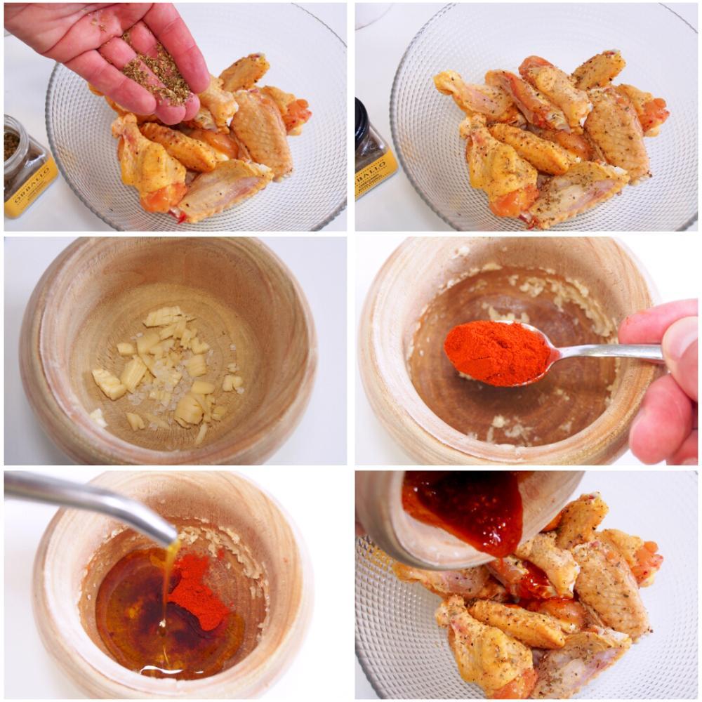 Alitas de pollo al horno - Paso 3