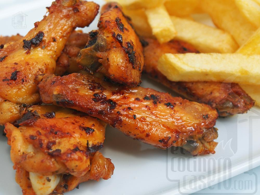 Alitas de pollo al horno - Paso 6
