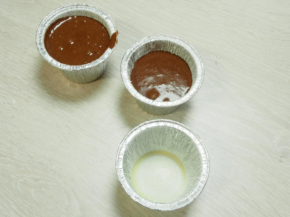 Coulant de chocolate (receta rápida) - Paso 5