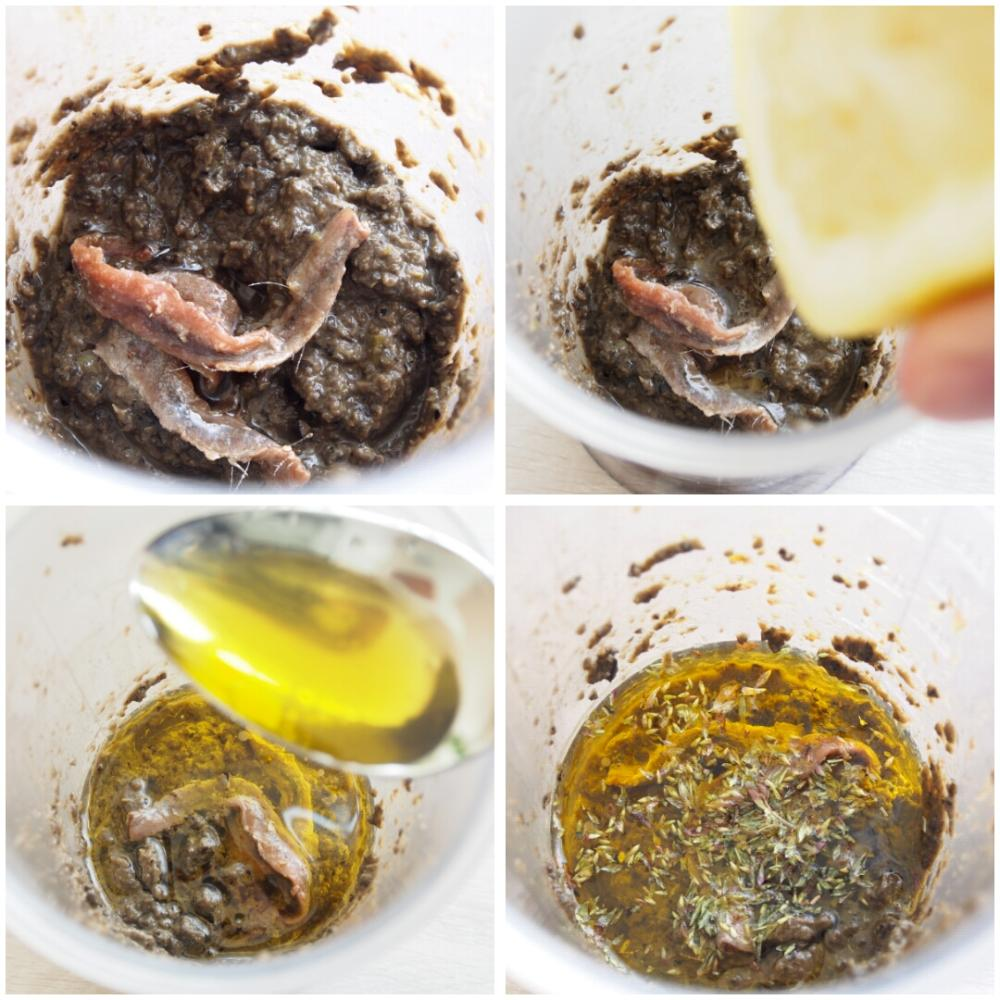 receta salsa de olivas negras