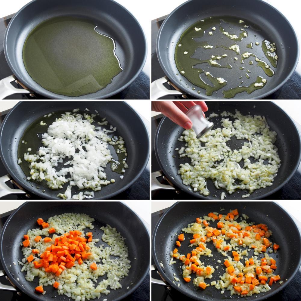 Berenjenas rellenas de carne picada - Paso 4