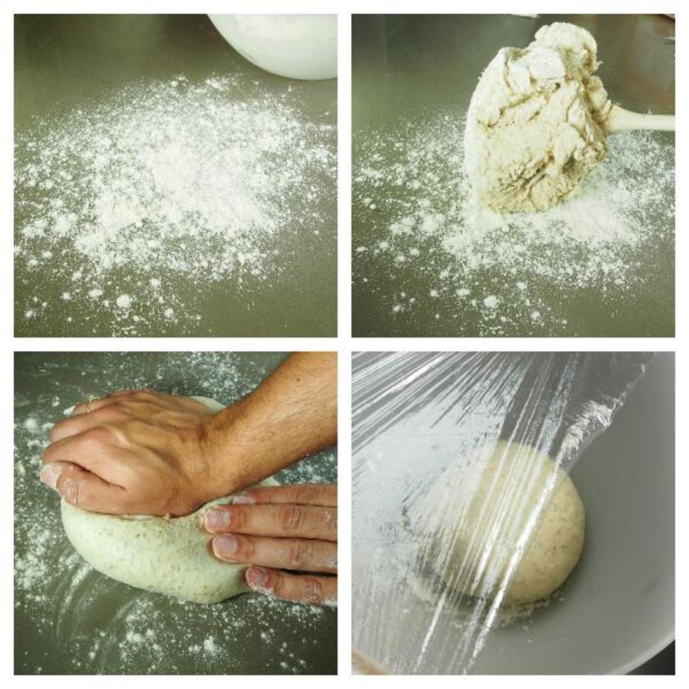 Pan de molde casero - Paso 3