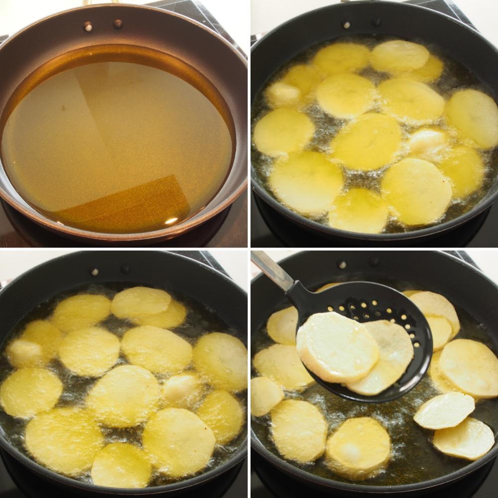 Bacalao al horno con patatas panadera - Paso 3