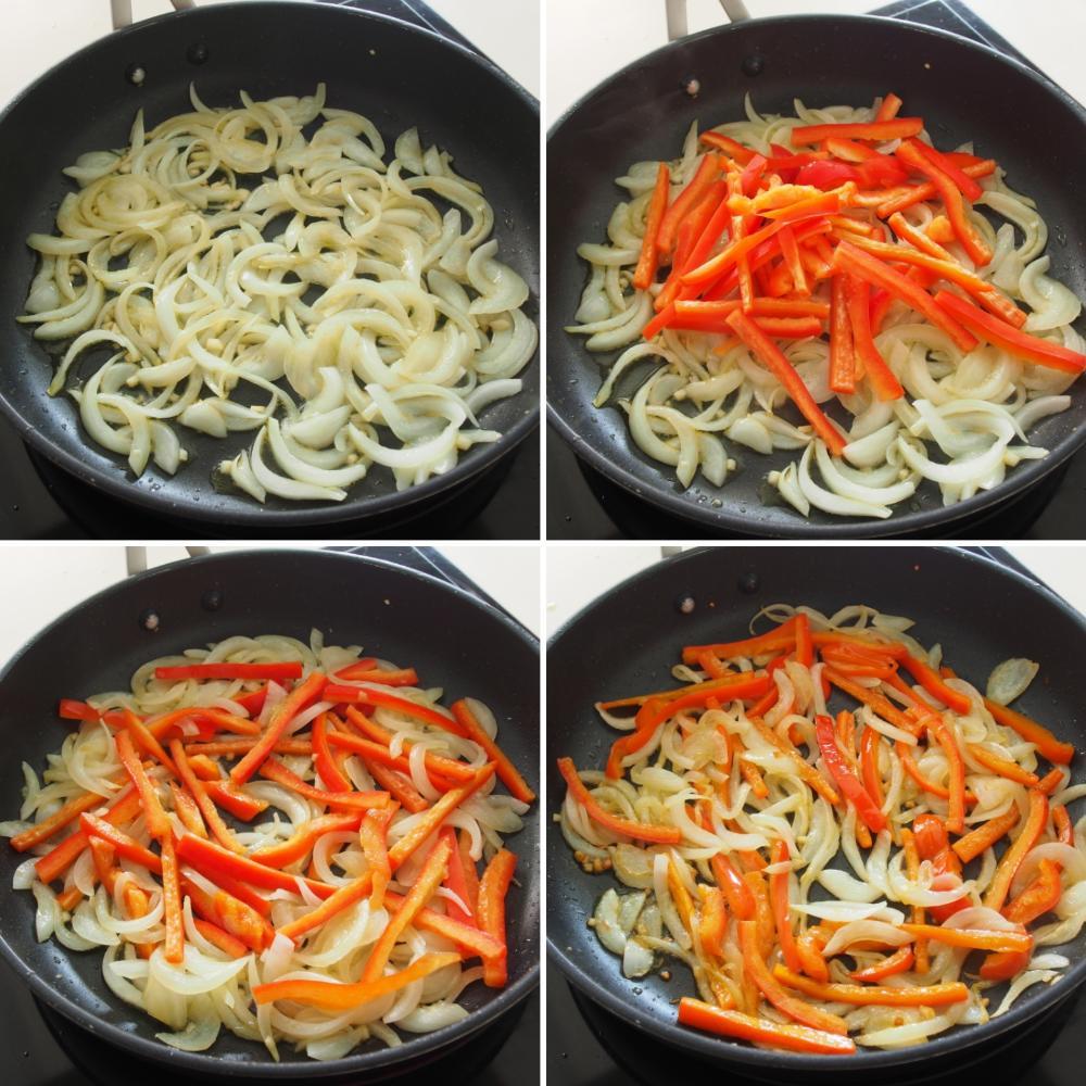 Shakshuka ó Huevos cuajados en salsa de tomate - Paso 3