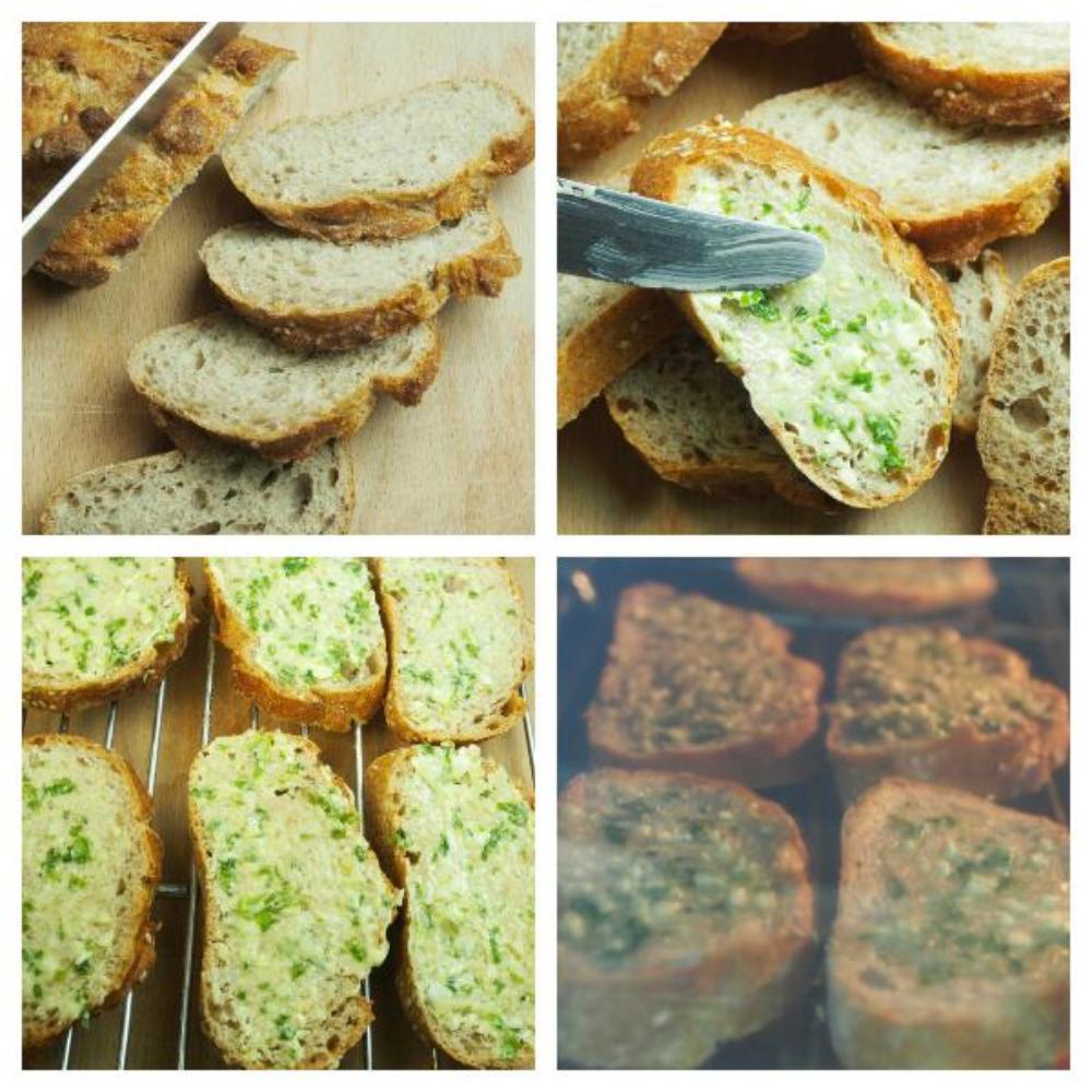Pan de ajo - Paso 2