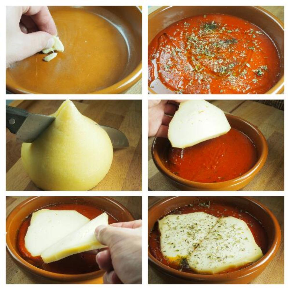 Cazuela de tetilla al horno con tomate y orégano - Paso 2