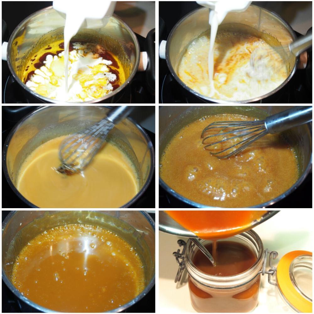 Salsa de toffee - Paso 3