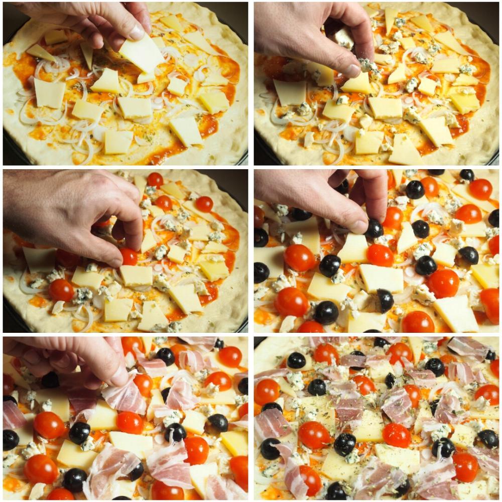 Pizza rústica  - Paso 3