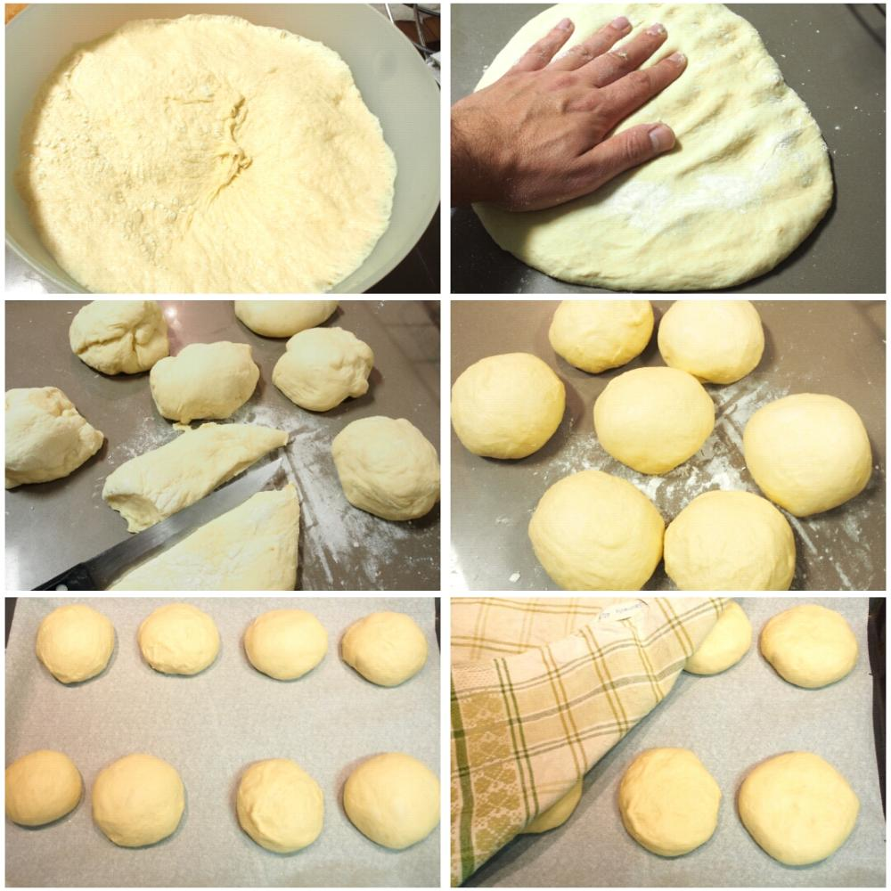 Pan de hamburguesa casero - Paso 4