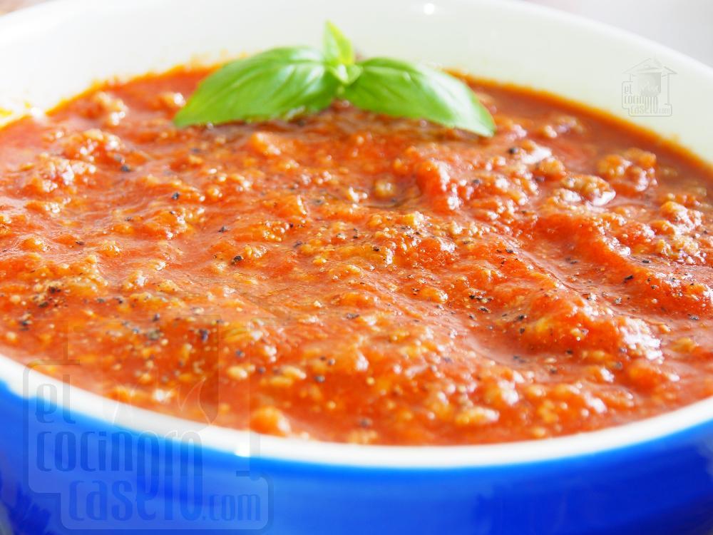 Salsa boloñesa - Paso 5