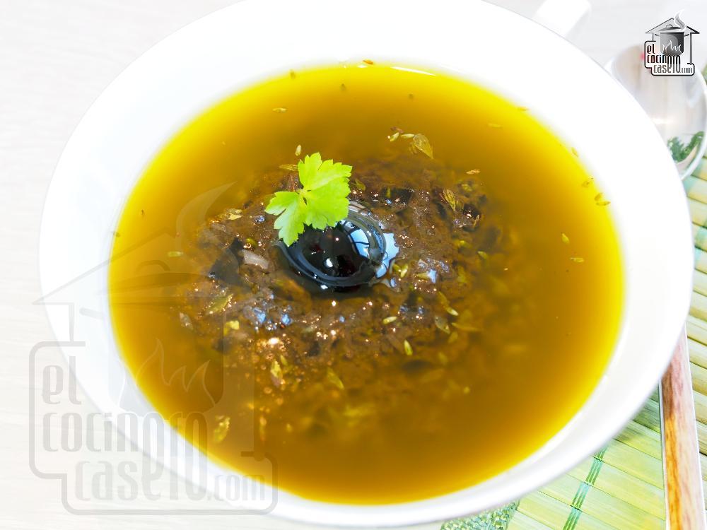 Olivada (Aliño para ensaladas)