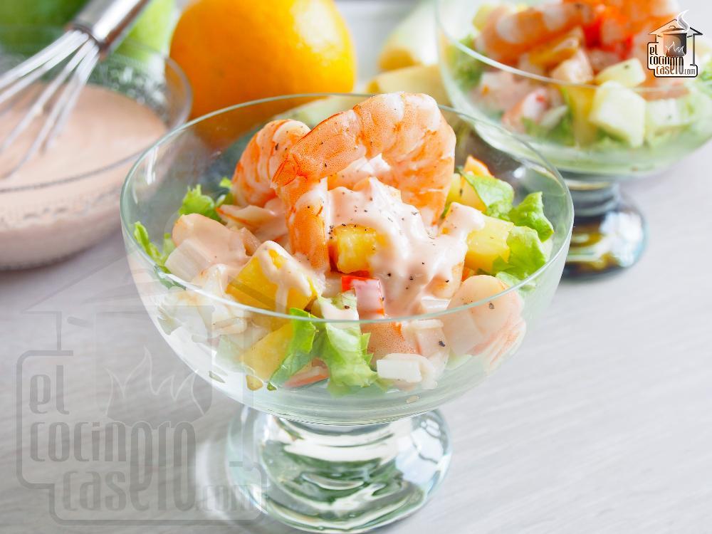 C ctel de marisco el cocinero casero pescados - Coctel de marisco ingredientes ...