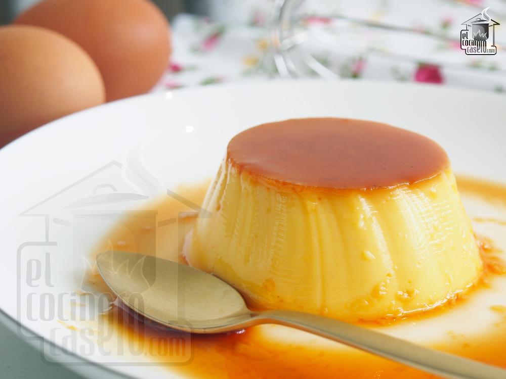 Hacer un flan casero trendy flan tradicional ta telma - Como se hace el flan de huevo al bano maria ...